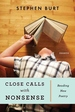 Close Calls with Nonsense:Reading New Poetry