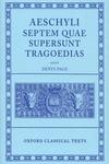 Aeschylus - Septem Quae Supersunt Tragoediae