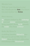 Hint Fiction:An Anthology of Stories in 25 Words or Fewer