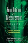 Foundations of Measurement, Vol. II:Geometrical, Threshold, and Probabilistic Representations