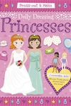 Press-Out & Make Dolly Dressing -- Princesses