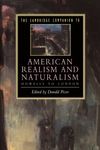 The Cambridge Companion to American Realism and Naturalism:From Howells to London