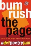 Bum Rush the Page:A Def Poetry Jam