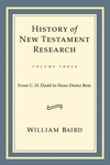 History of New Testament Research:From C. H. Dodd to Hans Dieter Betz