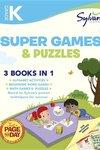 Kindergarten Super Games and Puzzles (Sylvan Super Workbook)