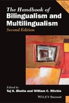 Handbook of Bilingualism and Multilingualism