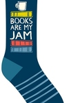 Books Are My Jam Socks
