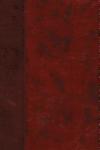 ESV Large Print Thinline Bible (Trutone, Burgundy/Red, Timeless Design)