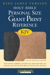 Holy Bible : King James Version, Black on Tan Flexisoft, Personal Size, Giant Print Reference