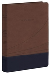 Holy Bible : King James Version, Black/Cocoa, FlexiSoft, Thinline Reference