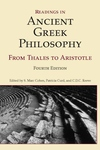 Readings in Ancient Greek Philosophy:From Thales to Aristotle