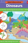 Watch Me Read and Draw: Dinosaurs: A step-by-step drawing & story book