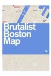 Brutalist Boston Map
