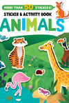 Animals Stickers and Activity Book