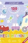 Mega Machines Sticker Art: 120 stickers!